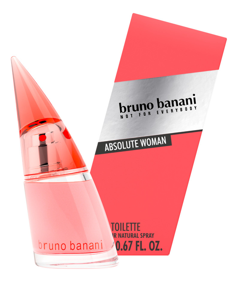 Bruno Banani Absolute Woman: туалетная вода 60мл bruno banani absolute woman