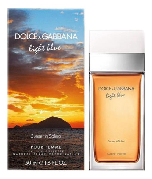 Купить Dolce Gabbana (D&G) Light Blue Sunset in Salina: туалетная вода 50мл, Dolce Gabbana (D&G) Light Blue Sunset In Salina, Dolce & Gabbana