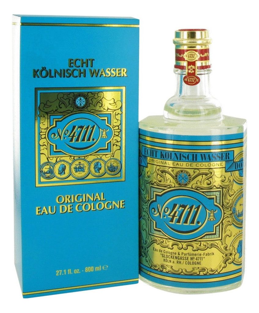 Maurer & Wirtz 4711 Original Eau de Cologne: одеколон 800мл coty stetson original одеколон 44мл