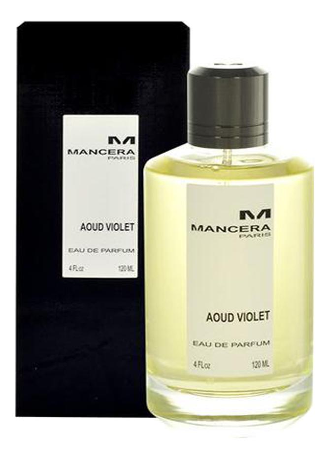 Mancera Aoud Violet: парфюмерная вода 120мл