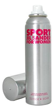 Jil Sander Sport for Women: дезодорант 150мл цена 2017