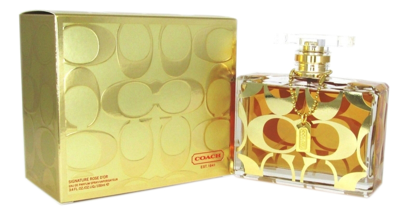 Coach Signature Rose d'Or: парфюмерная вода 100мл