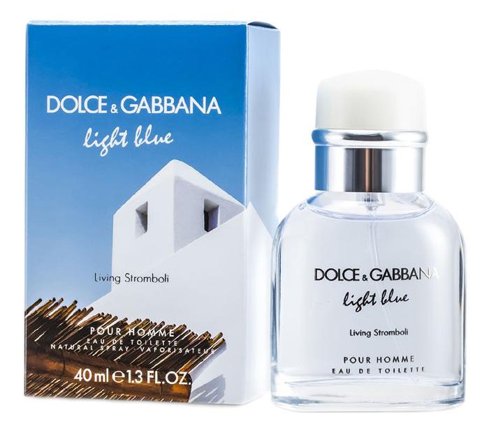 цена на Dolce Gabbana (D&G) Light Blue Living Stromboli : туалетная вода 40мл