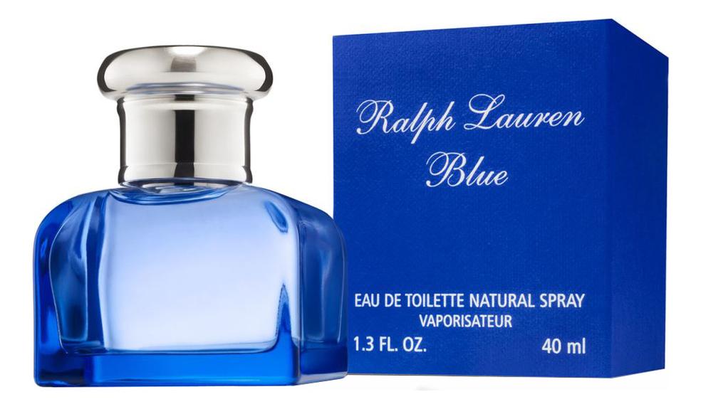 Ralph Lauren Blue: туалетная вода 40мл ralph lauren polo double black туалетная вода 40мл