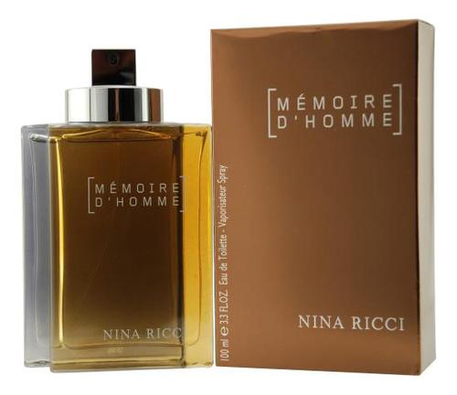 Memoire D'Homme: туалетная вода 100мл, Nina Ricci  - Купить