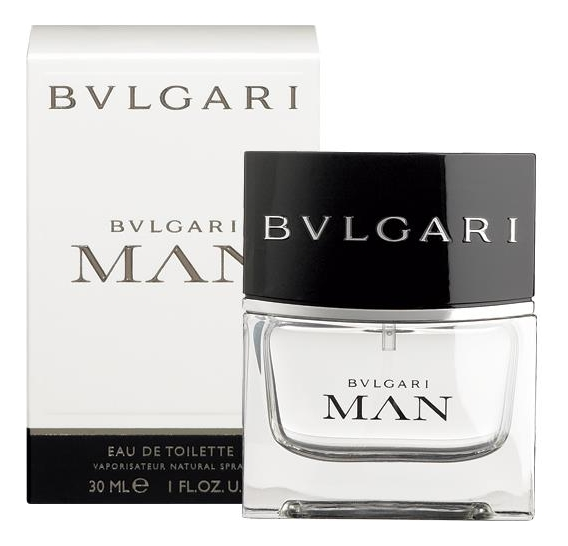 Купить Bvlgari MAN: туалетная вода 30мл