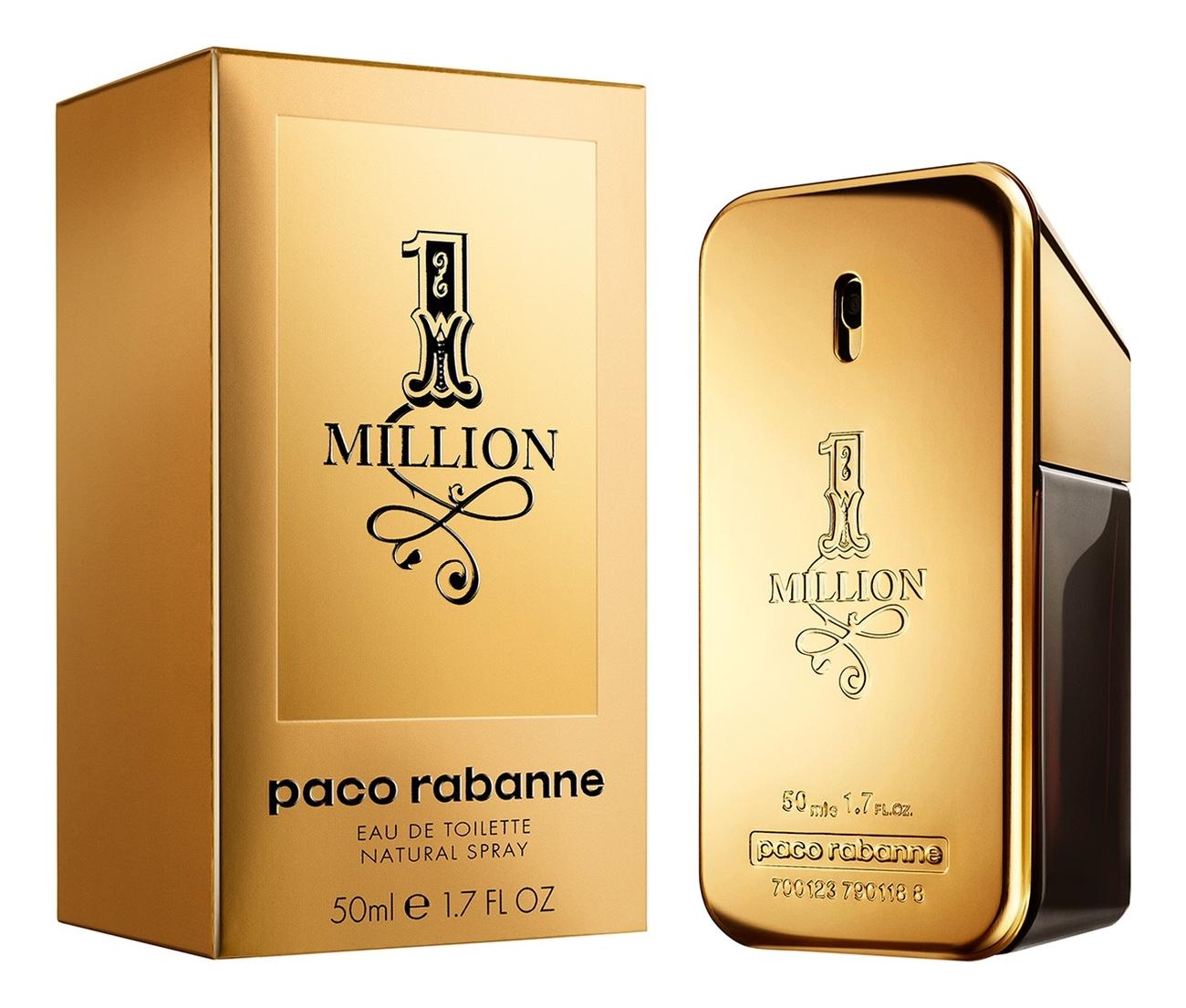 Paco Rabanne 1 Million Man: туалетная вода 50мл фото