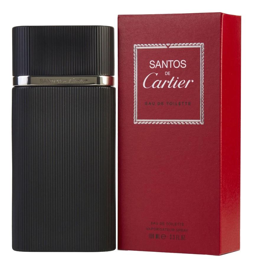 Cartier Santos de Cartier: туалетная вода 100мл cartier must de cartier туалетная вода 100 мл