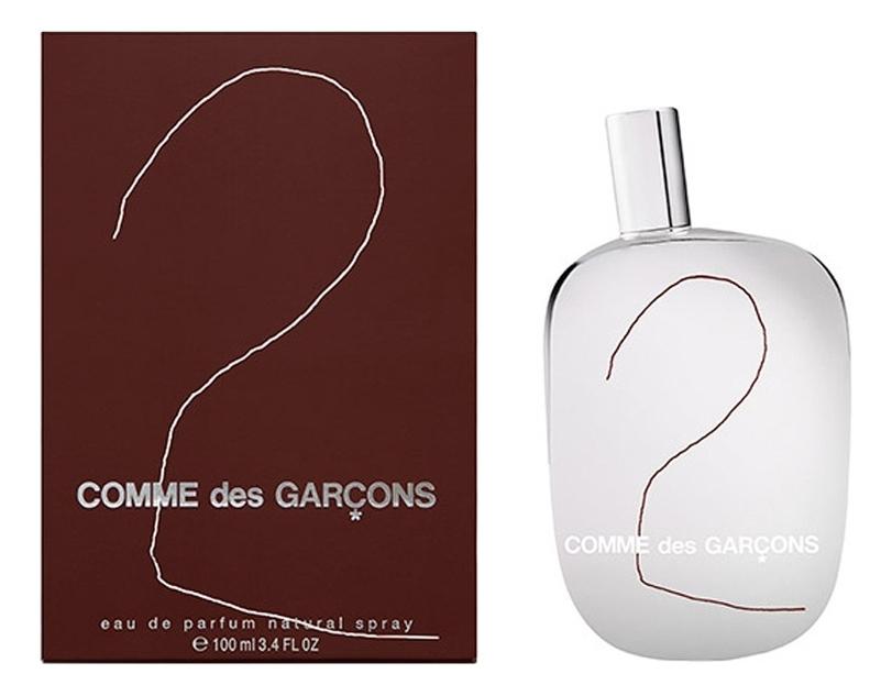 Comme des Garcons 2: парфюмерная вода 100мл недорого