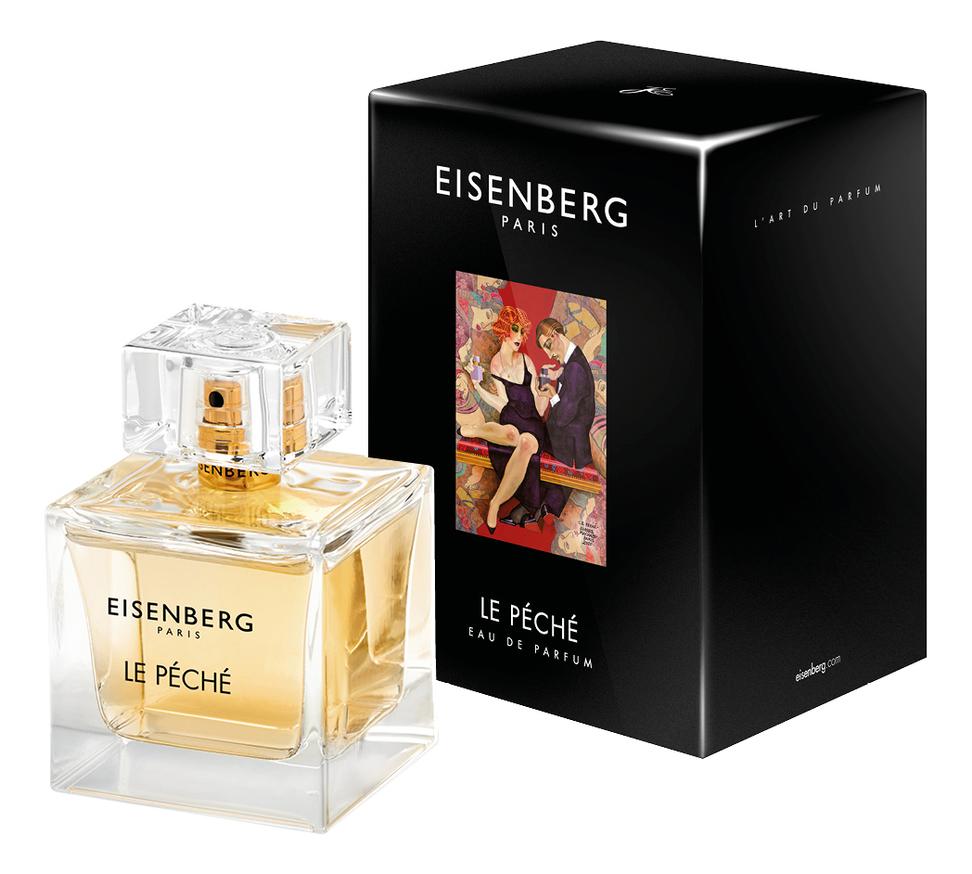 Le Peche: парфюмерная вода 100мл eisenberg le peche духи 15мл