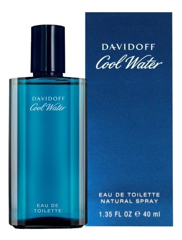 Купить Cool Water for men: туалетная вода 40мл, Davidoff