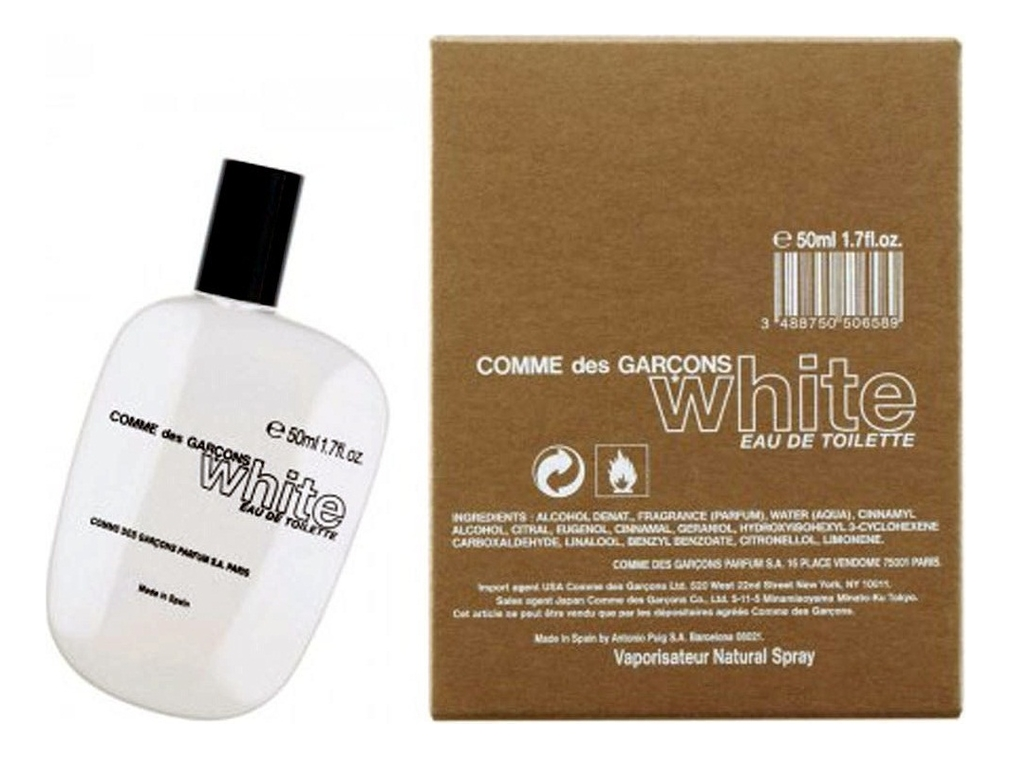 Купить Comme des Garcons White: туалетная вода 50мл