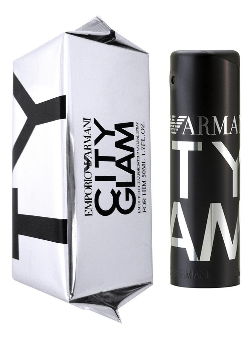 Armani Emporio City Glam for him: туалетная вода 50мл