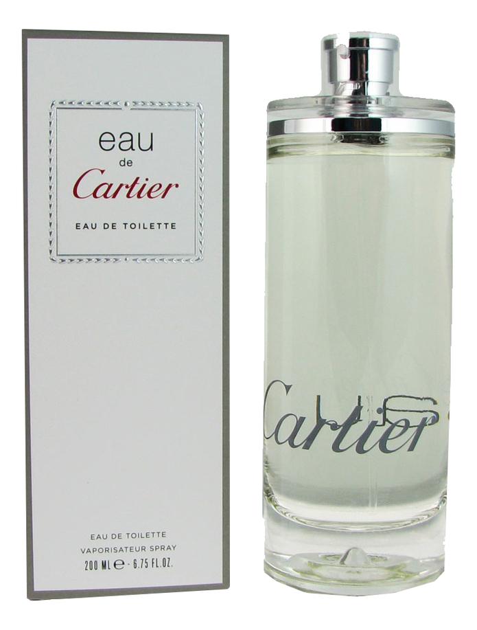 Cartier Eau de Cartier: туалетная вода 200мл cartier eau de cartier