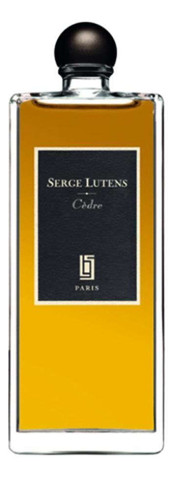 Serge Lutens Cedre: парфюмерная вода 50мл тестер serge lutens serge noire парфюмерная вода 50мл тестер