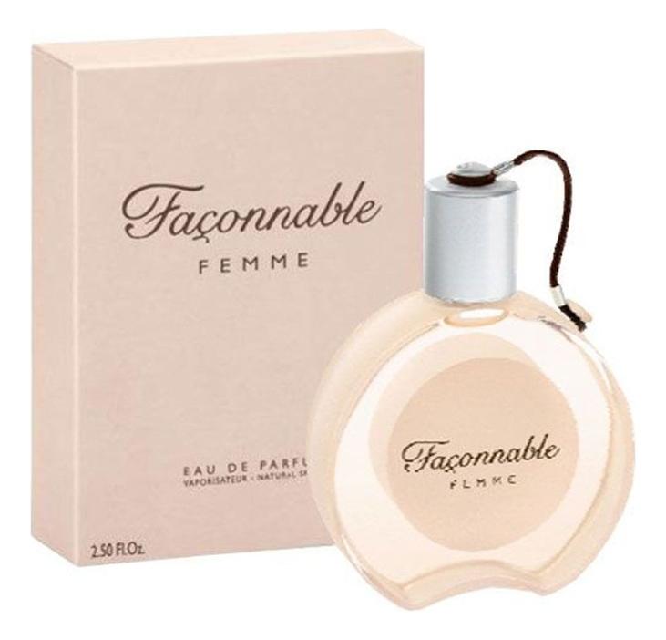 Faconnable Femme: парфюмерная вода 50мл faconnable faconnable femme