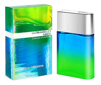 Купить Paco Rabanne Ultraviolet Colours of Summer Man: туалетная вода 100мл