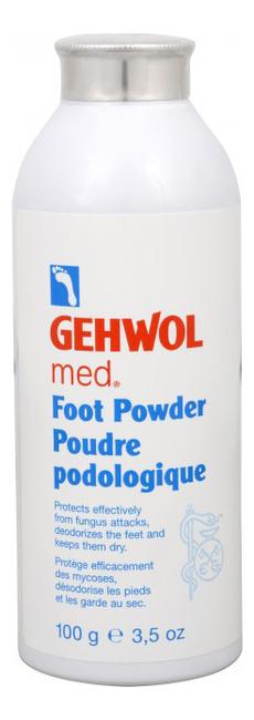 Пудра-адсорбент для ног Med. Foot Powder: Пудра-адсорбент 100г gehwol med отзывы