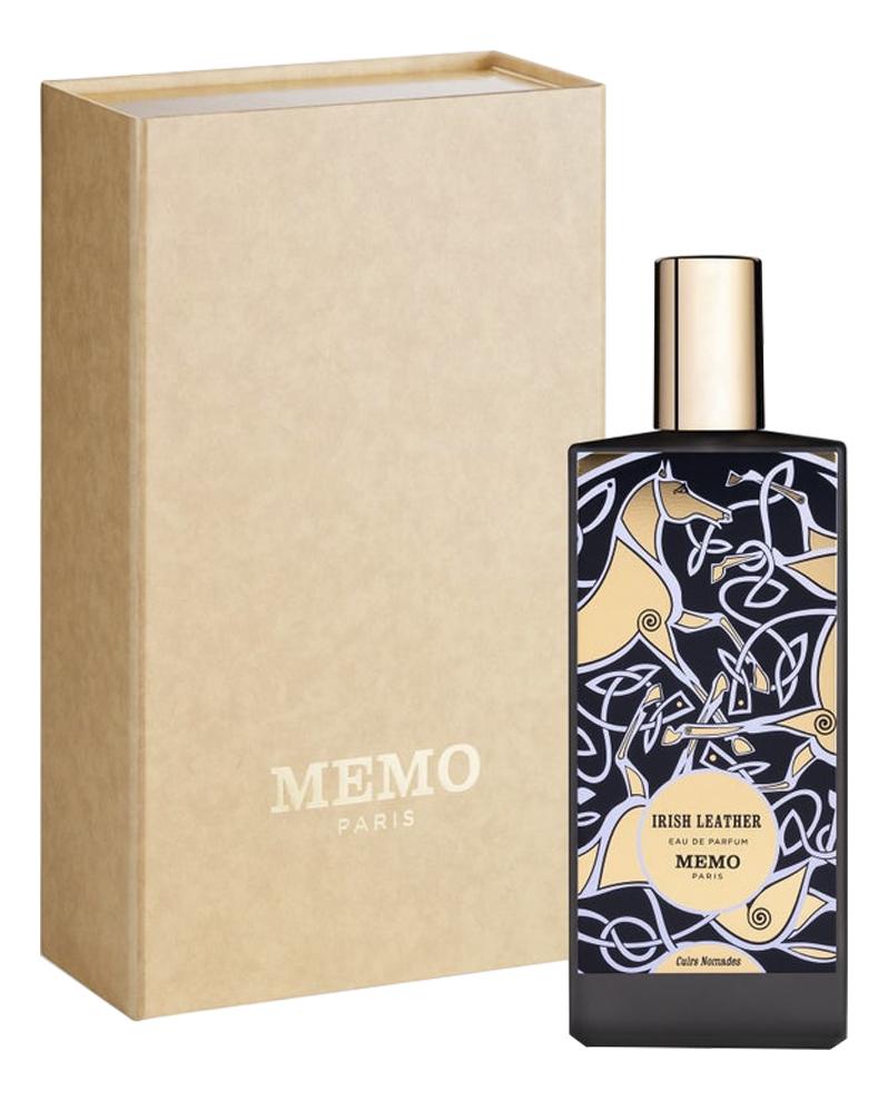 Irish Leather: парфюмерная вода 75мл memo irish leather гель для душа 250мл