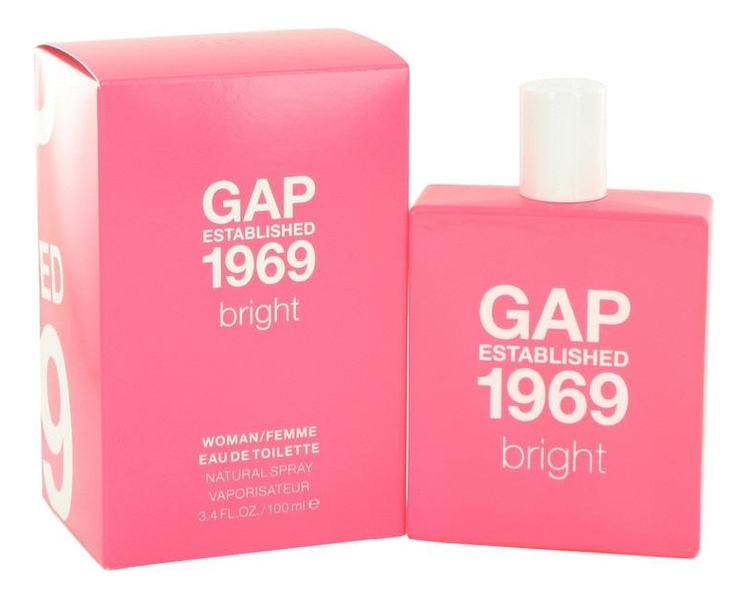 GAP Established 1969 Bright for women: туалетная вода 100мл