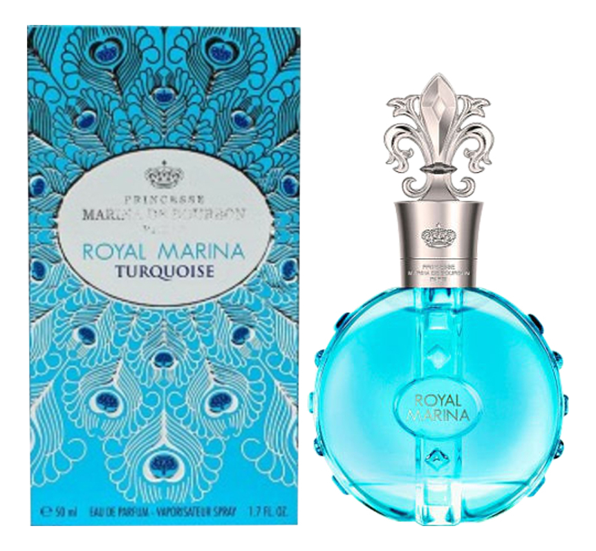 Marina de Bourbon Royal Marina Turquoise: парфюмерная вода 50мл юбка marina sport x marina rinaldi marina sport x marina rinaldi pe025ewehhp9