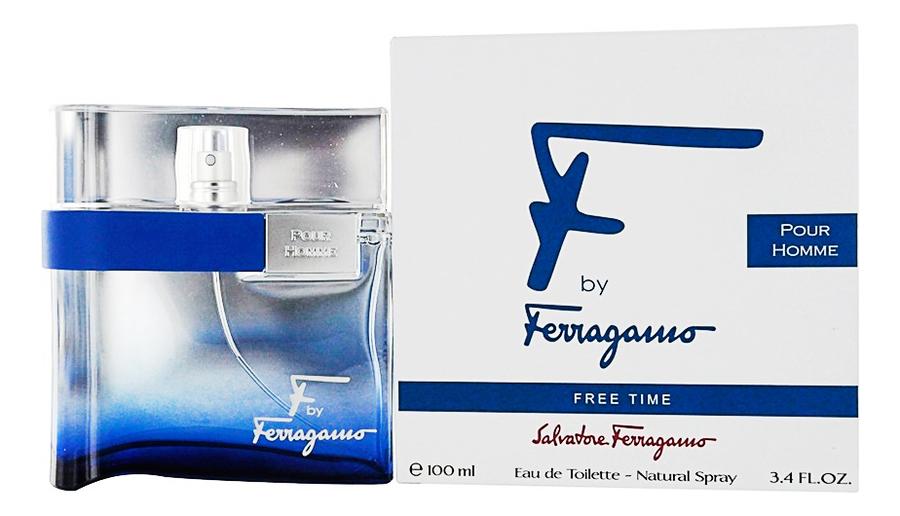 F by Ferragamo Free Time: туалетная вода 100мл