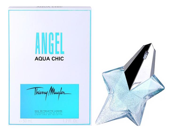 Mugler Angel Aqua Chic: туалетная вода 50мл