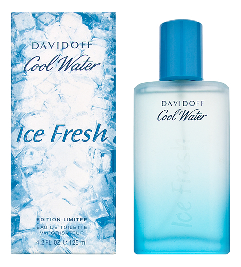 Davidoff Cool Water Men Ice Fresh: туалетная вода 125мл