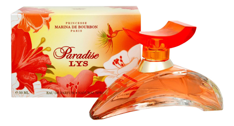 Marina de Bourbon Lys Paradise : парфюмерная вода 50мл marina de bourbon lys paradise парфюмерная вода 30мл