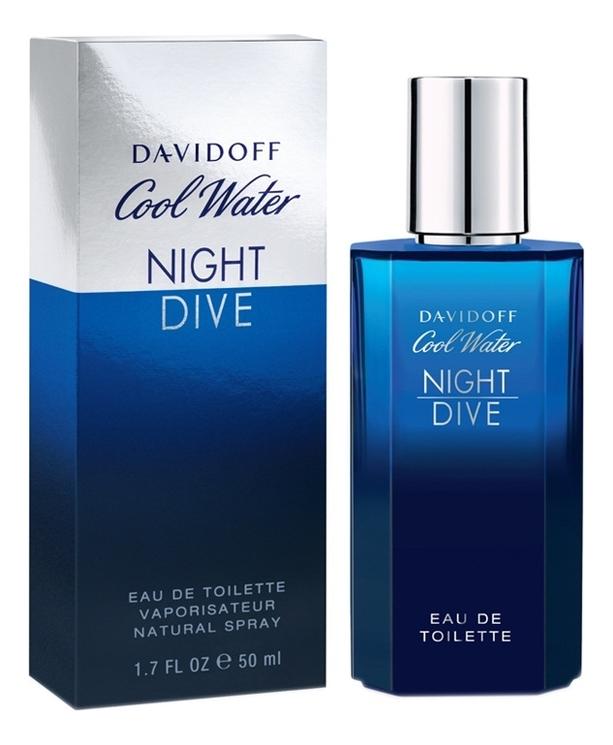 Купить Cool Water Night Dive: туалетная вода 50мл, Davidoff