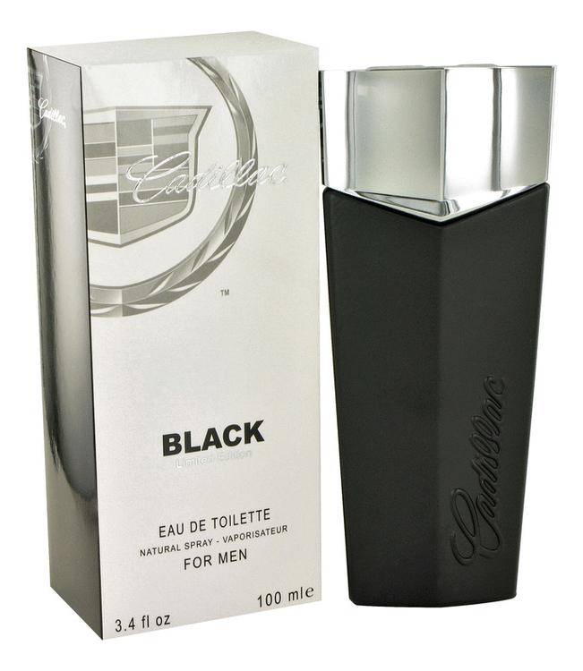 Cadillac Black: туалетная вода 100мл