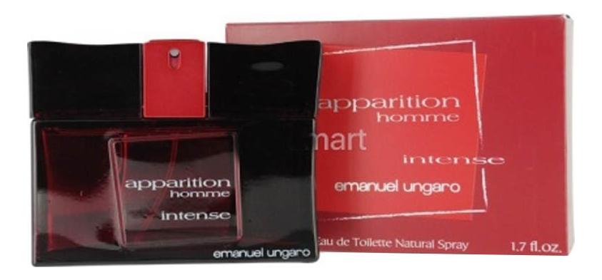 Фото - Emanuel Ungaro Apparition Intense Homme: туалетная вода 50мл emanuel ungaro apparition exotic green туалетная вода 30мл
