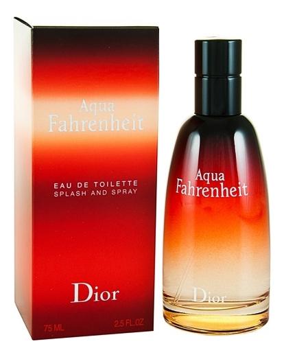 Купить Christian Dior Fahrenheit Aqua: туалетная вода 75мл