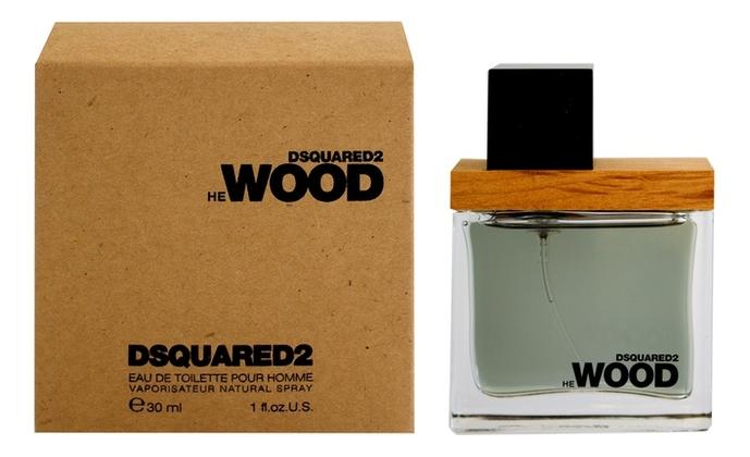 Dsquared2 He Wood: туалетная вода 30мл dsquared2 he wood intense