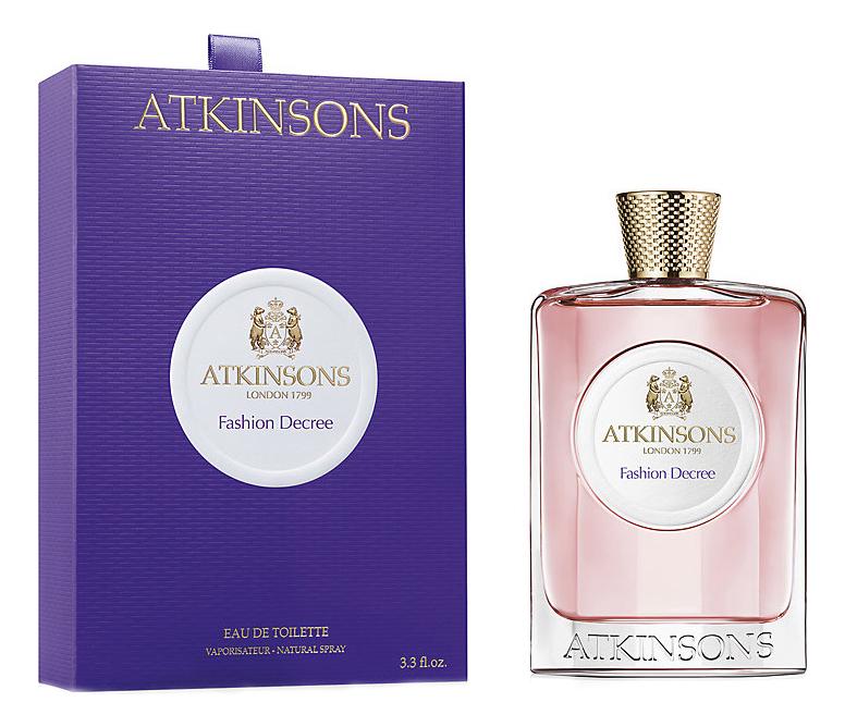 Купить Atkinsons Fashion Decree : туалетная вода 100мл
