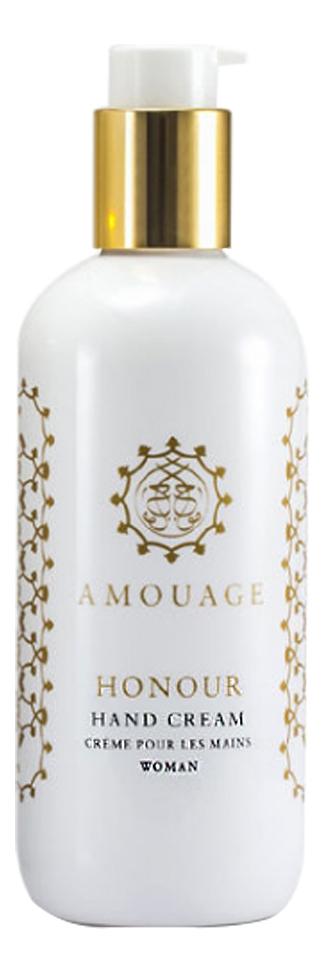 Фото - Honour for woman: крем для рук 300мл amouage ciel for woman крем для рук 300мл