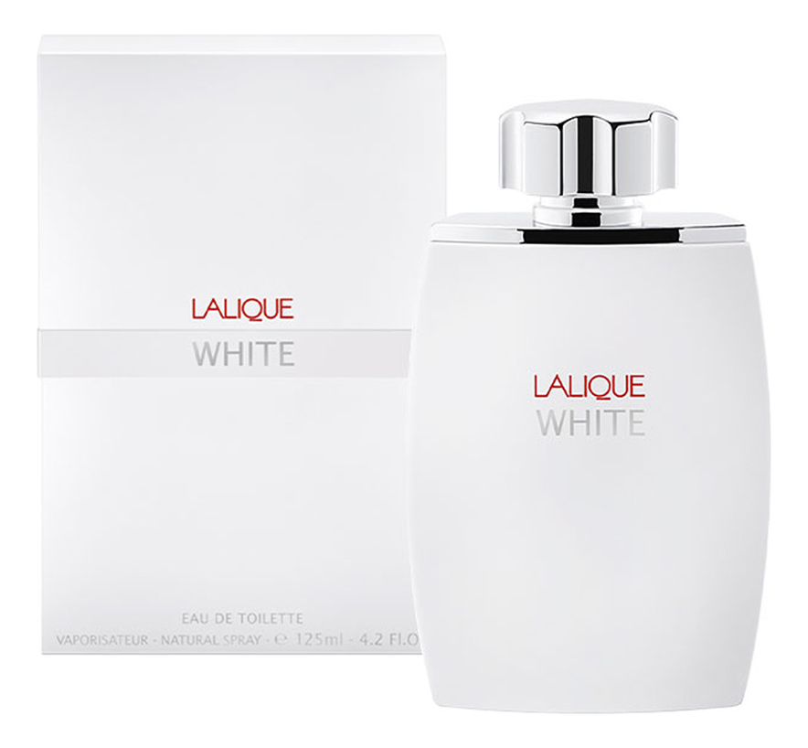Lalique White Pour Homme: туалетная вода 125мл фото