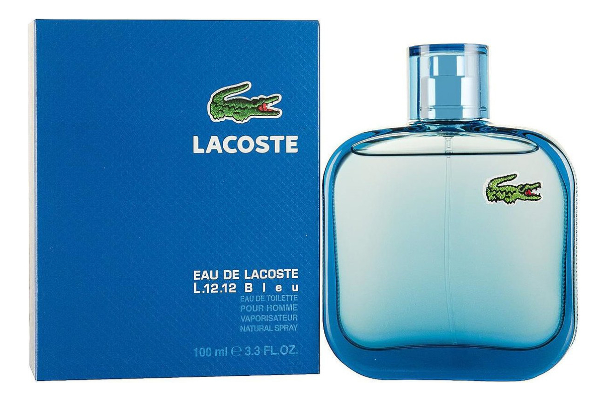 Eau de Lacoste L.12.12 Bleu: туалетная вода 100мл недорого