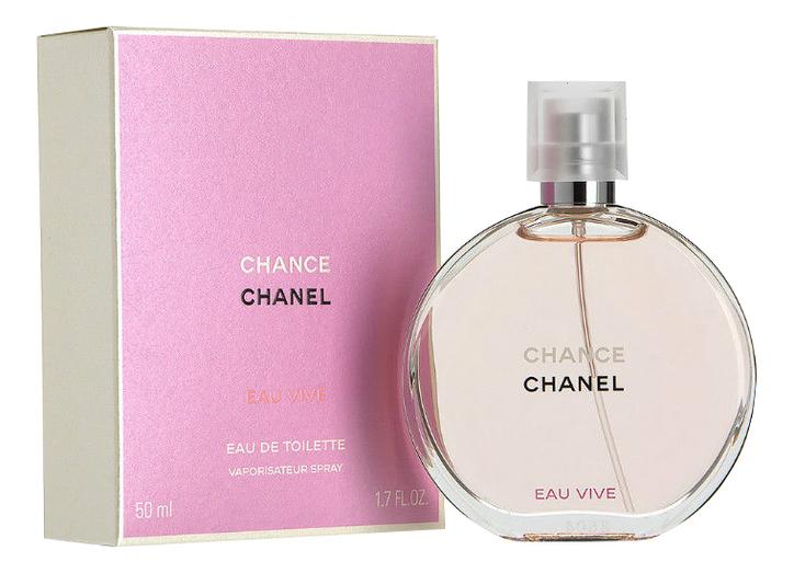 Chanel Chance Eau Vive: туалетная вода 50мл недорого
