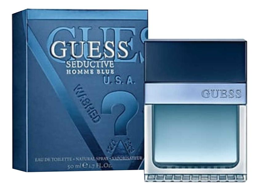 Guess Seductive Homme Blue: туалетная вода 50мл