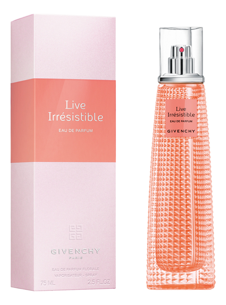 Givenchy Live Irresistible: парфюмерная вода 75мл