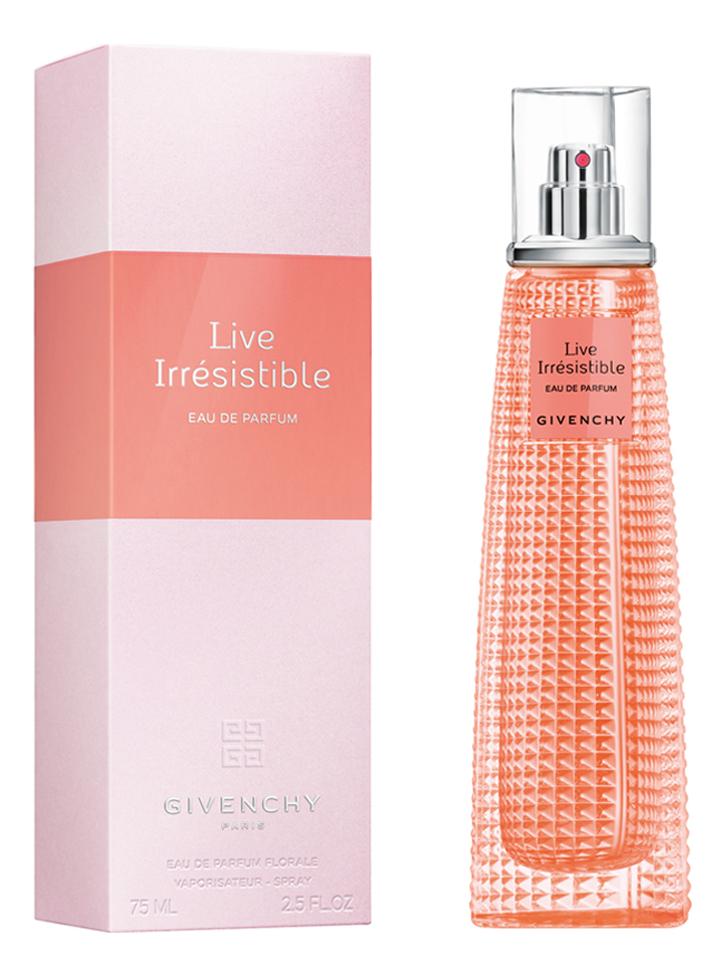Купить Givenchy Live Irresistible: парфюмерная вода 75мл