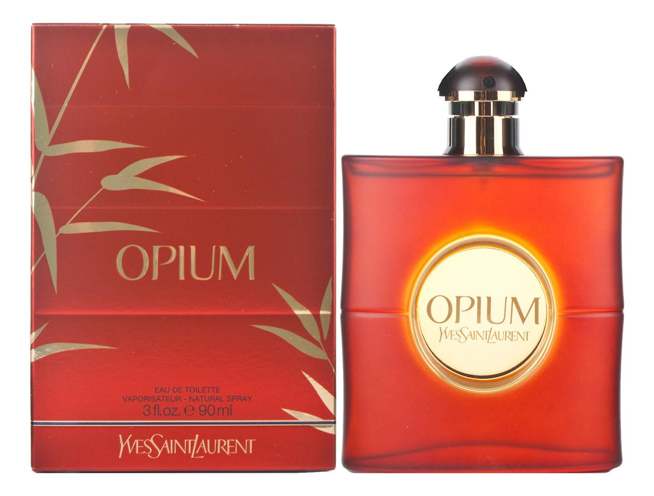 Opium: туалетная вода 90мл недорого