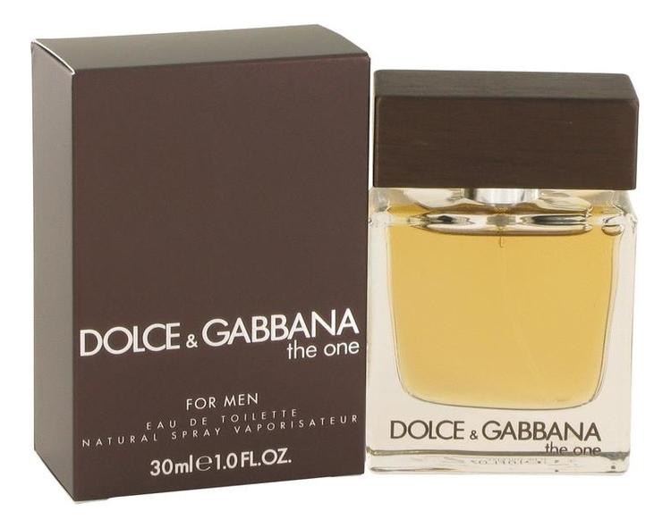 Купить The One for Men: туалетная вода 30мл, Dolce & Gabbana