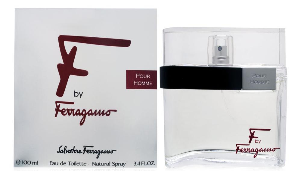 Купить F by Ferragamo Pour Homme: туалетная вода 100мл, Salvatore Ferragamo