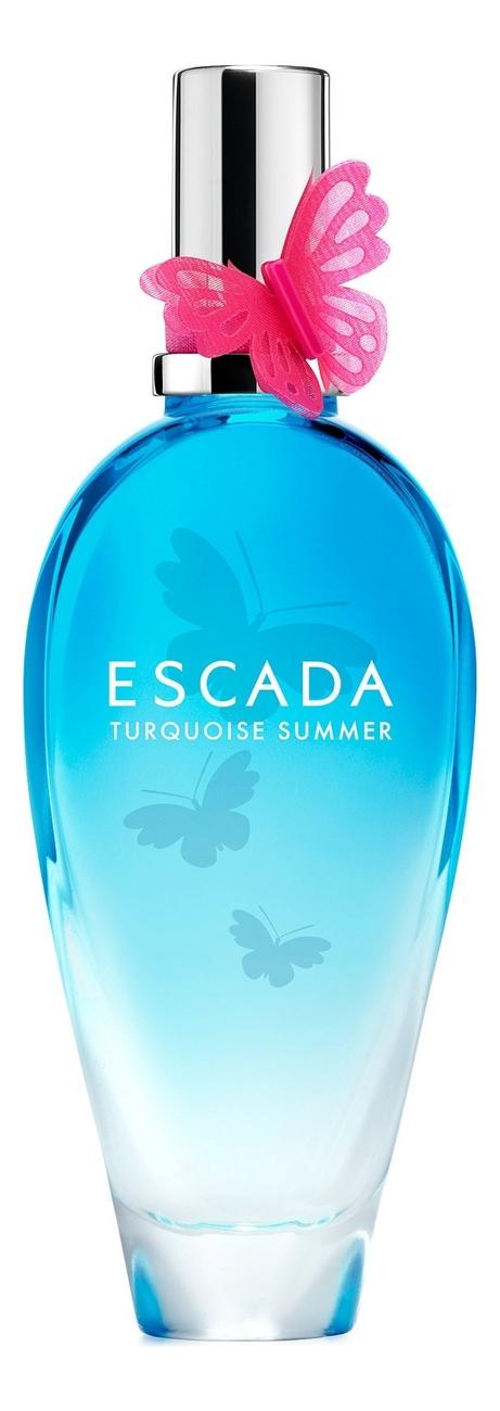 Фото - Escada Turquoise Summer: туалетная вода 100мл тестер туалетная вода escada turquoise
