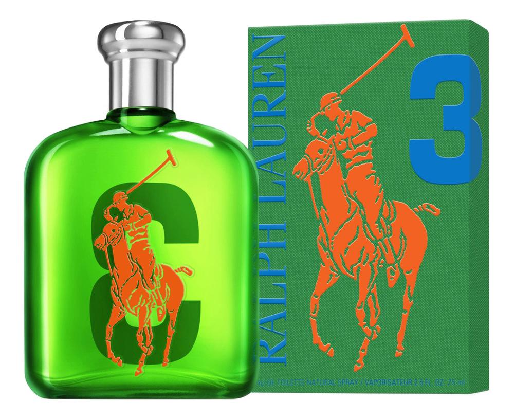 Ralph Lauren Big Pony 3: туалетная вода 75мл ralph lauren big pony 4 orange