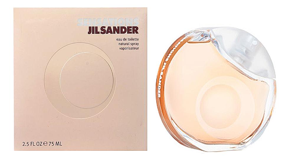 Jil Sander Sensations: туалетная вода 75мл трусы serge 56586 белый 56 размер