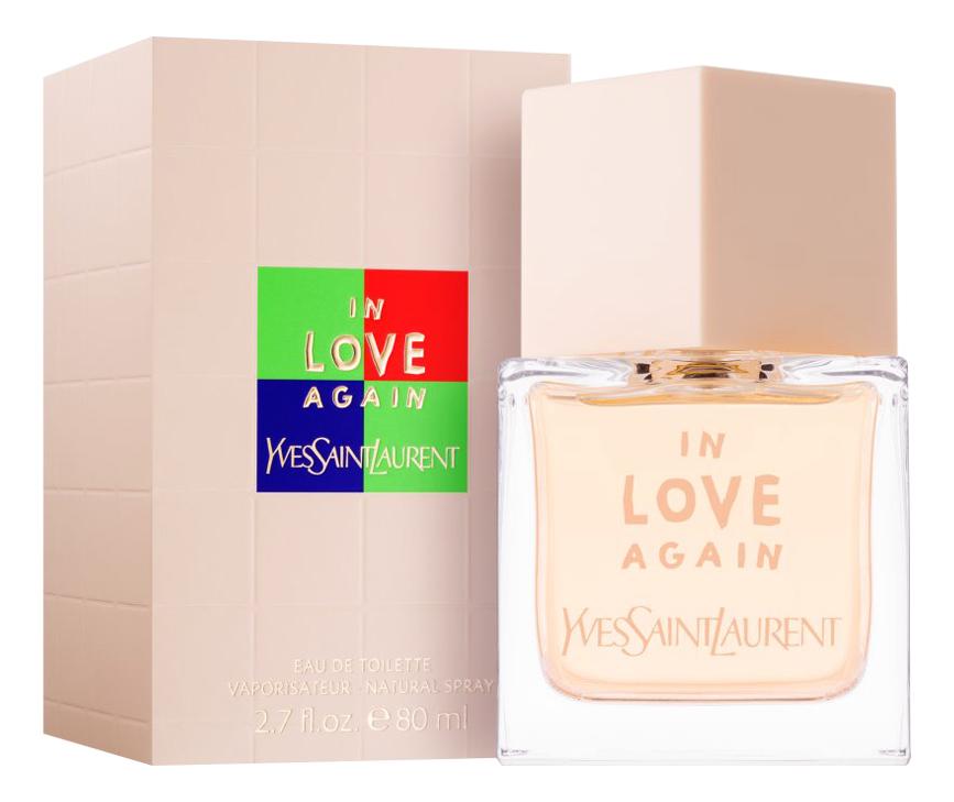 YSL In Love Again: туалетная вода 80мл (новый дизайн) ysl in love again туалетная вода 100мл