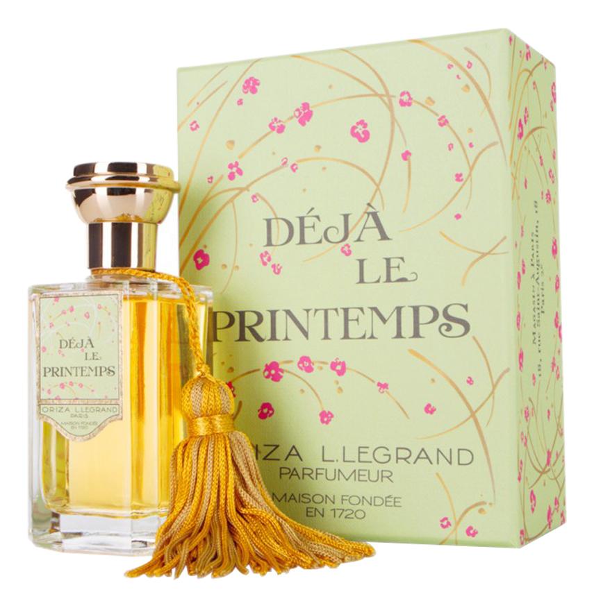 цена на Oriza L. Legrand Deja Le Printemps: парфюмерная вода 100мл